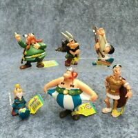 6Pcs/Set Classic France Cartoon Adventures Of Asterix Figures Kids Toys Decor