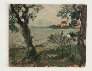 Impressionist Oil Painting, circa early 1900's by Paul Kapell (1876-1943)