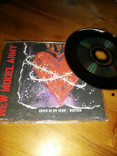 New Model Army Queen of my heart/Brother Maxi-CD gebraucht guter Zustand