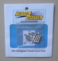INJECTOR VELOCITY STACKS 1:24 1:25 DETAIL MASTER CAR MODEL ACCESSORY 3285