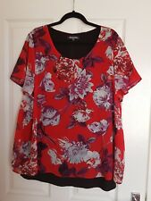 💥Stunning floral ladies Bonmarche top size 20 💥