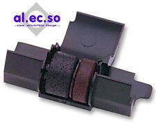 Farbrolle f Casio FR2650 T rot/schwarz druckend robuste farbintensive Qualität