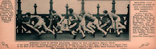 1930 ROTOGRAVURE GLOBE INDEMNITY CHAMPION RELAY TEAM MILLER DOLMEYER PELT CAPP