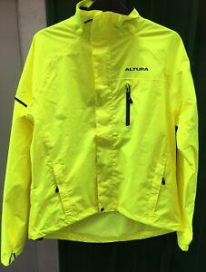 Altura Nightvision  Womens Cycling Jacket - Yellow Waterproof SIZE 10 NEW FREE P