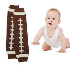 1Pair US Football Baby Arm Leg Warmers Cotton Toddler Boys Girls Legging Socks