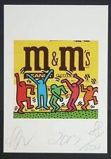 "STREET ART - RAW - ""SWEET MEN"" - PRINT- SIGNED - COA -15cm x 21cm - NEW"