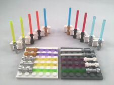 20 LEGO Star Wars Minifigure Lightsabers Lot - All NEW parts - 10 Colors!
