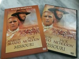 "DVD ""MISSOURI"" MARLON BRANDO JACK NICHOLSON STUDIO CLASSIC  VENDITA ITALIA"