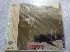 UK SUBS RIOT 1997 BLCK-85925 New Japanese Promotion CD +2 Bonus w/OBI From Japan