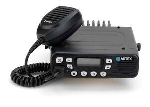 Mitex Mobi 128 Channel Mobile UHF Two Way Radio