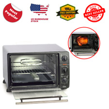 Elite Cuisine 23-Liter Toaster Oven with Rotisserie 23 Liter Capacity Durable