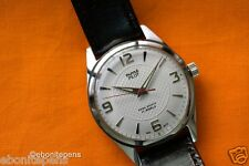 NOS Brand new-old-stock RARE HMT White Pilot, Steel Hands, Mechanical Handwinder