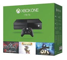 Microsoft Xbox One Holiday Bundle 1TB Black Console