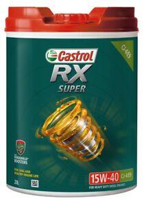 Castrol RX Super 15W-40 CJ-4/E9 20L 3418280 fits Eunos Cosmo 20B