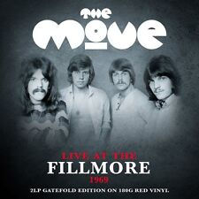 The Move - Live At The Fillmore 1969 (2LP Gatefold On 180g Red Vinyl) NEW/SEALED