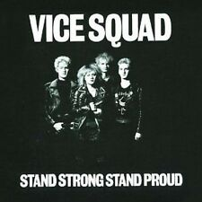 Vice Squad Stand Strong Stand Proud CD+Bonus Tracks NEW SEALED Punk Oi!