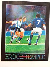 "Brook Temple SOCCER    (30"" x 24"")"