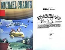 Michael Chabon~SIGNED~Summerland~ARC~RARE!!