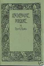 LINCOLNSHIRE FOLKLORE BY ETHEL H. RUDKIN 1936