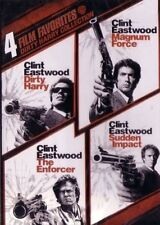 DIRTY HARRY MAGNUM FORCE ENFORCER SUDDEN IMPACT DVD R4 COLLECTION CLINT EASTWOOD