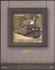 Austria 2014 Trains/Railways/Rail/Steam Engine/Locomotive/Transport m/s (at1096)