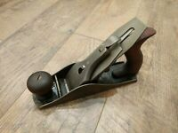 Antique Bailey Corrugated Bottom Wood Plane No. 4 Woodworking Tools Stanley