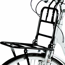 BLACK FRONT BICYCLE CARRIER SUPPORT FRAME BIKE CYCLE LUGGAGE