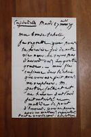 ✒ L.A.S. Anatole de LA FORGE à Aurélien SCHOLL - confidentielle Gaston JOLLIVET