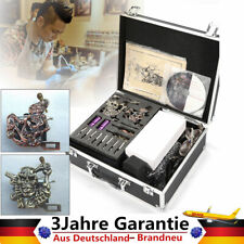 Profi Komplett Set Tätowiermaschine 4 tattoo Maschine Gun 7 Farben 8 Tinte Nadel