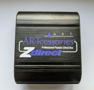 ART ZDirect Pro Passive DI Box PLUS 3 pin 6m cable  (used once)