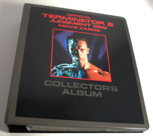 1991 Impel Terminator 2 Judgement Day Collector's Album Binder 140 Card Set