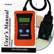 Ford Fiesta Car Diagnostic Code Reader Fault Reset Tool OBD2 Scanner UK