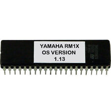 Yamaha RM1X version 1.13 firmware OS update upgrade EPROM