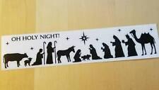 Christmas Nativity Wall Art Vinyl Sticker - Small, Medium, Large or X Large
