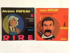 LOT DISQUES 45T SPECIAL JACQUES DUFILHO