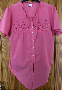 Cotton Traders Blouse Size 18