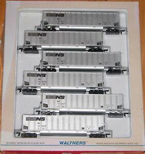 WALTHERS 932-5304 BETHGON BETHGONS 6-PACK NORFOLK SOUTHERN NS