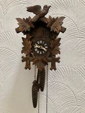 More details for vintage regula hand made wooden black forest cuckoo clock made in germany