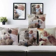 Custom Personalised Photo Birthday Anniversary FanArt Gift Pillow Cushion Cover