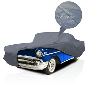 [PSD]Supreme Waterproof Full Car Cover for Plymouth Scamp 1975-1976 Coupe 2-Door