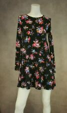 Long Sleeve Floral Dress Tunic Top New Size 8