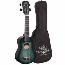 Soundsation Mhw-gr Ukulele Soprano Verde Maui con Borsa