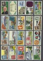 1939 Ardath Stamps Rare & Interesting Tobacco Cards Complete Set of 50