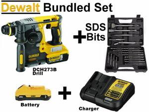 DEWALT DCH273B 20v Max Brushless SDS Rotary Hammer CHISEL DRILL, Bits or Kit Set