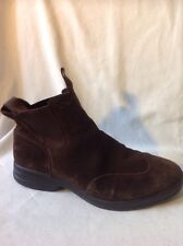 Superga Brown Ankle Suede Boots Size 41
