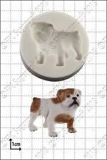 Silicona Molde Bulldog | uso alimentario FPC Sugarcraft Envío Reino Unido!