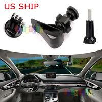 "For GoPro Camera Camcorder 1/4"" Screw Car SunShade Visor Board Clip Mount Holder"