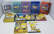 Lot of 11 THE SIMPSONS DVD Sets-SEASONS 1-10 and Movie -VG *FREE SHIPPING*