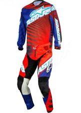 Pantaloni Motocross Alpinestars 2014 Racer Braap Barcia Rosso-blu-nero