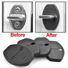 Door Lock Cover Buckle For Audi Q3 Q5 Q7 A1 A4 A5 A8 A7 Porsche Cayenne 4pcs ABS